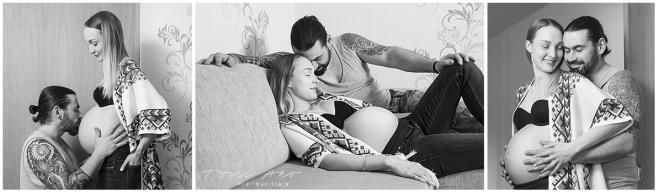 raskausmuotokuvauksesta 3-kuvan sarja